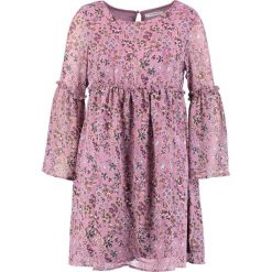 Sukienki hiszpanki: Glamorous Sukienka letnia mauve floral print