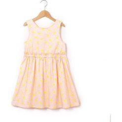 Sukienki dziewczęce: Sukienka bez rękawów wzorzysta 3-12 lat