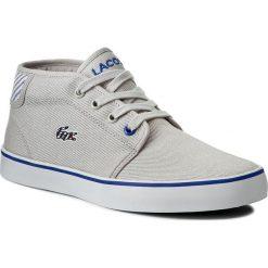 Trampki chłopięce: Sneakersy LACOSTE - Ampthill 117 1 Caj 7-33CAJ1000334 Lt Gry