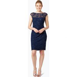 Sukienki: LAUREN RALPH LAUREN – Damska sukienka koktajlowa, niebieski