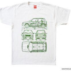 Koszulka FIAT UNO. Szare t-shirty męskie marki S.Oliver, l, z bawełny, z włoskim kołnierzykiem, z długim rękawem. Za 77,00 zł.