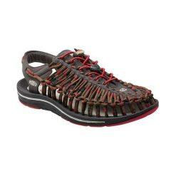 Sandały męskie: Keen Sandały męskie Uneek Stripes Red Dahlia/Raya r. 44.5 (1014620)