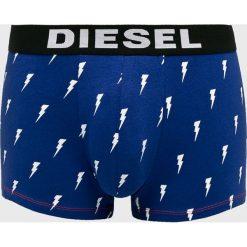 Diesel - Bokserki (3-pack). Niebieskie bokserki męskie Diesel, z bawełny. Za 199,90 zł.