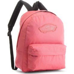 Plecak VANS - Realm Backpack VN0A3UI6YDZ Desert Rose. Czerwone plecaki damskie Vans, z materiału, sportowe. W wyprzedaży za 129,00 zł.