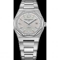 ZEGAREK GIRARD PERREGAUX LAUREATO 34 MM 80189D11A131-11A. Szare zegarki damskie GIRARD-PERREGAUX, szklane. Za 43890,00 zł.