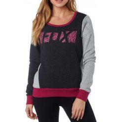 Bluzy rozpinane damskie: FOX Bluza Damska Libra Po Crew Xs Czarny