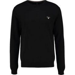 GANT CREW Sweter black. Czarne swetry klasyczne męskie GANT, m, z bawełny. Za 419,00 zł.