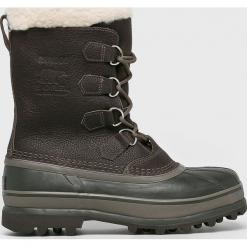 Sorel - Buty. Szare buty trekkingowe męskie Sorel, z materiału, na sznurówki, outdoorowe. Za 749,90 zł.