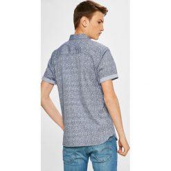 Premium by Jack&Jones - Koszula. Szare koszule męskie na spinki marki Premium by Jack&Jones, l, z bawełny, z włoskim kołnierzykiem, z długim rękawem. W wyprzedaży za 99,90 zł.