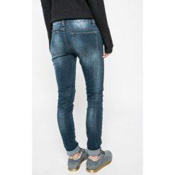 Sublevel - Jeansy. Niebieskie jeansy damskie rurki marki Sublevel, z bawełny. W wyprzedaży za 69,90 zł.