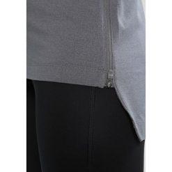 ASICS THERMOPOLIS HOODIE&SULPHUR  Koszulka sportowa carbon heather. Szare t-shirty damskie marki Asics, z poliesteru. W wyprzedaży za 174,30 zł.