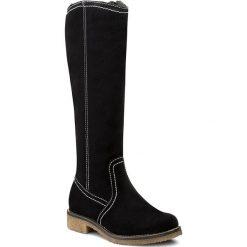 Buty zimowe damskie: Kozaki LASOCKI – G098 Granatowy