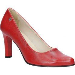 Czerwone czółenka na słupku Casu 3043. Czerwone buty ślubne damskie marki Casu, na słupku. Za 78,99 zł.