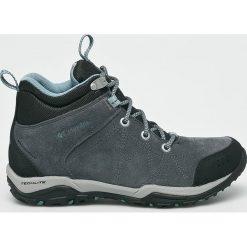 Columbia - Buty Fire Venture Mid. Brązowe buty trekkingowe damskie Columbia. W wyprzedaży za 399,90 zł.