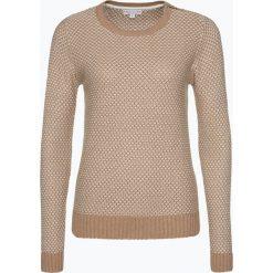 Marie Lund - Sweter damski, beżowy. Brązowe swetry rozpinane damskie Marie Lund, m, z dzianiny. Za 179,95 zł.