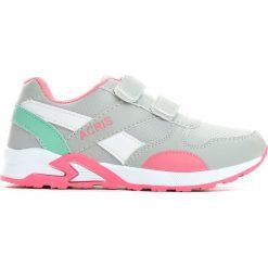 Szaro Różowe Buty Sportowe Say Something. Czerwone buty sportowe dziewczęce marki Born2be, z okrągłym noskiem, na płaskiej podeszwie, na rzepy. Za 59,99 zł.