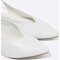 Answear - Baleriny Better. Szare baleriny damskie marki ANSWEAR, z gumy. W wyprzedaży za 59,90 zł.