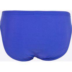 Speedo - Kąpielówki. Niebieskie kąpielówki męskie Speedo, z dzianiny. W wyprzedaży za 69,90 zł.