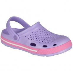 Coqui Sandały Damskie Lindo Lt. Lila/Pink 38. Białe sandały damskie marki Coqui, na wysokim obcasie. Za 65,00 zł.