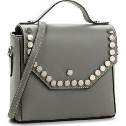 Torebka CREOLE - K10463 Szary. Szare torebki klasyczne damskie Creole, ze skóry. W wyprzedaży za 169,00 zł.