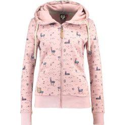 Odzież damska: Ragwear Bluza rozpinana old pink