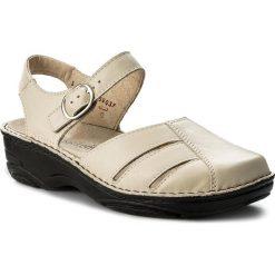 Rzymianki damskie: Sandały BERKEMANN – Brithe 03417 Beige 725
