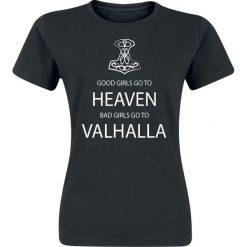 T-shirty damskie: Sprüche Good Girls Koszulka damska czarny