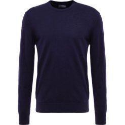 Emporio Armani Sweter blue. Szare swetry klasyczne męskie marki Emporio Armani, l, z bawełny, z kapturem. Za 669,00 zł.