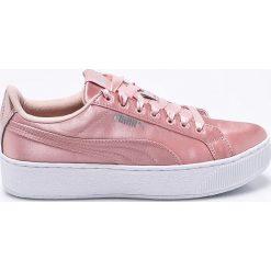 Puma - Buty Vikky Platform EP. Różowe buty sportowe damskie marki Puma, z gumy. W wyprzedaży za 229,90 zł.