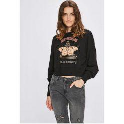 Femi Stories - Bluza Punk. Szare bluzy z nadrukiem damskie marki Femi Stories, m, z bawełny, bez kaptura. W wyprzedaży za 139,90 zł.