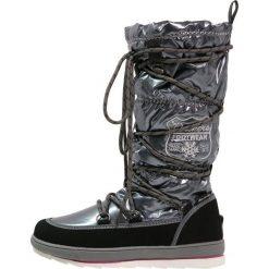 Dockers by Gerli Śniegowce schwarz/grau. Szare buty zimowe damskie Dockers by Gerli, z materiału. W wyprzedaży za 149,40 zł.