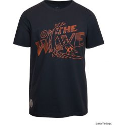 T-shirt ON THE WAVE GRAPHITE. Czarne t-shirty męskie marki Pakamera, m, z kapturem. Za 129,00 zł.