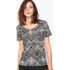 T-shirty damskie: T-shirt z nadrukiem, bawełna & Modal