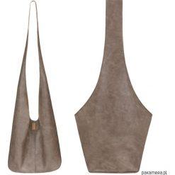 Long Boogi Bag jasnobrązowa / torebka hobo. Brązowe torebki klasyczne damskie Pakamera. Za 190,00 zł.