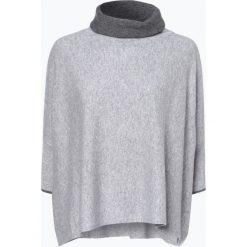 Someday - Sweter damski z dodatkiem kaszmiru – Tjelva contrast, szary. Szare golfy damskie someday., m, z kaszmiru. Za 699,95 zł.