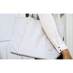 Shopper bag damskie: TORBA SHOPPER FELICE BONITA BŁĘKIT KYLEE