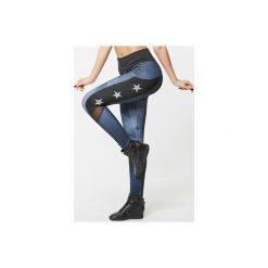 Spodnie damskie: SFD Legginsy Stars damskie r.  S  (76125)