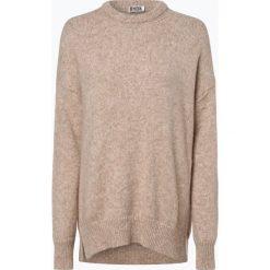 Swetry klasyczne damskie: Drykorn - Sweter damski z dodatkiem alpaki – Bola, beżowy