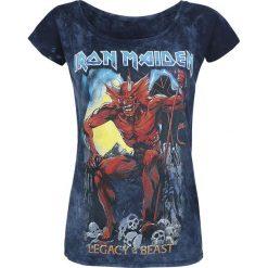 Iron Maiden Legacy of the Beast 2 Koszulka damska szary/granatowy. Niebieskie bluzki asymetryczne Iron Maiden, l. Za 121,90 zł.