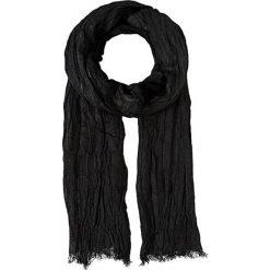 Szaliki męskie: Szal w kolorze czarnym – 35 x 195 cm