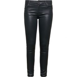 Rurki damskie: 7 for all mankind Jeans Skinny Fit coated black