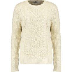 Swetry męskie: Topman CABLE   Sweter cream