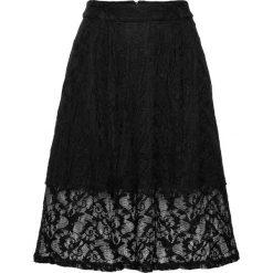 Spódniczki: Spódnica koronkowa bonprix czarny
