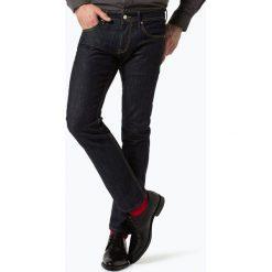 Baldessarini - Jeansy męskie – Jack, niebieski. Niebieskie jeansy męskie z dziurami marki Baldessarini. Za 499,90 zł.