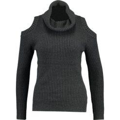 Swetry klasyczne damskie: Glamorous Sweter charcoal