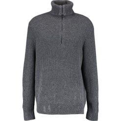 AllSaints IVANN FUNNEL Sweter grey marl. Szare kardigany męskie AllSaints, m, z bawełny. W wyprzedaży za 395,45 zł.