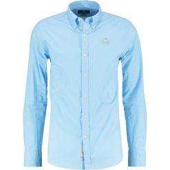La Martina SLIM FIT Koszula blue bell. Niebieskie koszule męskie na spinki La Martina, m, z bawełny. Za 419,00 zł.