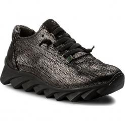 Półbuty SLOW WALK - Nibiru-W 10409W Desert Iron. Czarne creepersy damskie Slow Walk, ze skóry ekologicznej, na płaskiej podeszwie. W wyprzedaży za 279,00 zł.