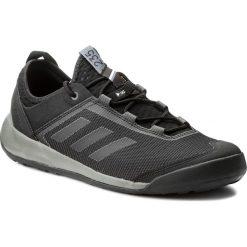 Buty adidas - Terrex Swift Solo S80930 Utiblk/Cblack/Grefou. Czarne buty trekkingowe męskie marki Adidas, z materiału, outdoorowe, adidas terrex. W wyprzedaży za 269,00 zł.