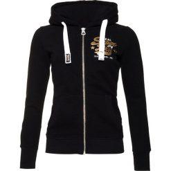Superdry NEW ORIGINAL  Bluza rozpinana black. Czarne bluzy rozpinane damskie Superdry, m, z bawełny. Za 369,00 zł.